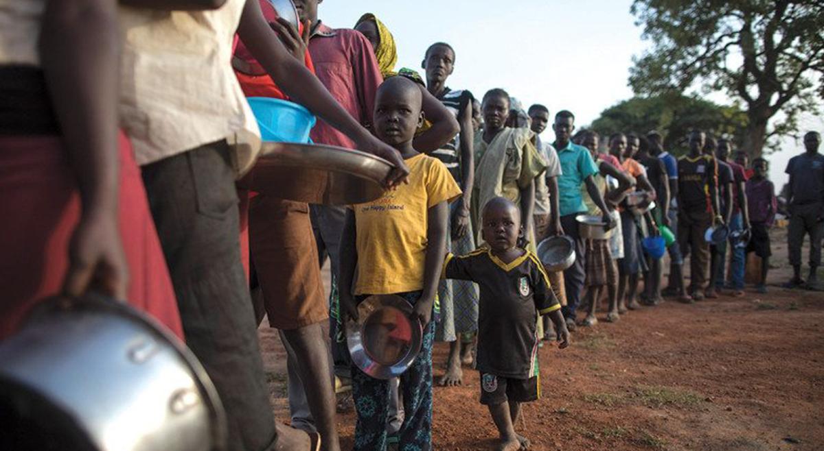 União Europeia financia com 65 MEuros projeto para reduzir fome devido à seca em Angola