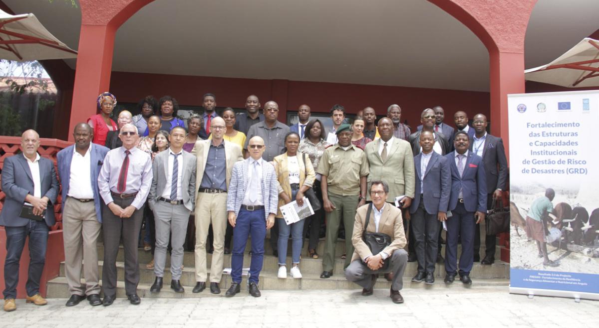 Lançamento da Componente do PNUD no FRESAN que apoia as províncias afectadas pela seca no Sul de Angola