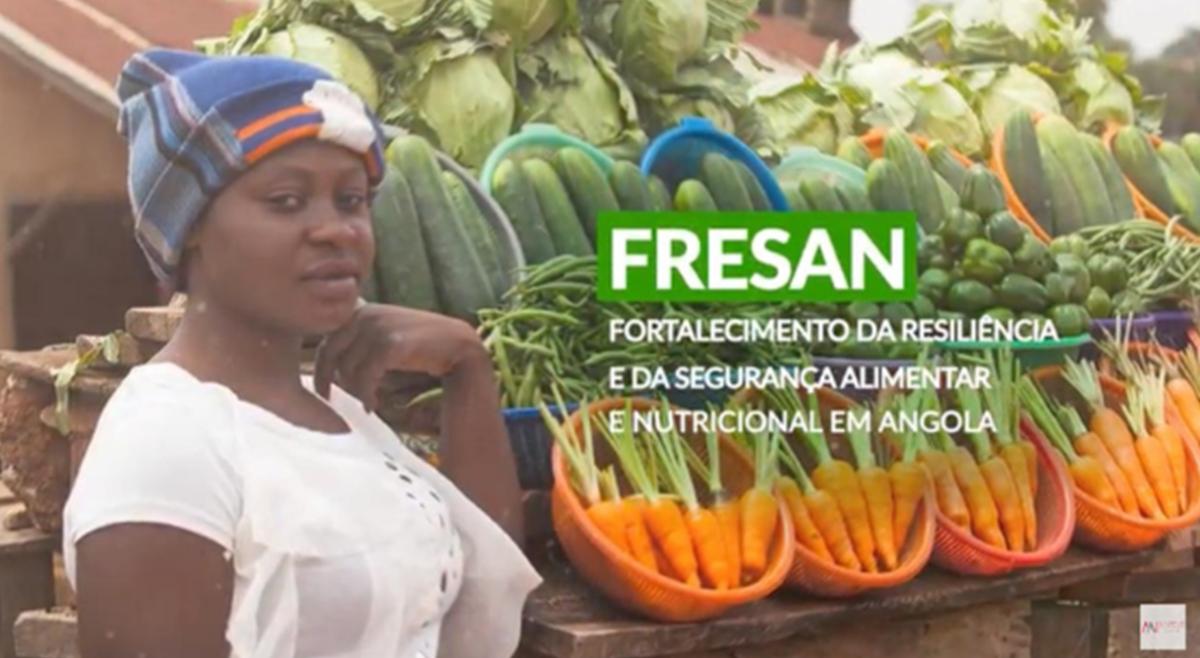 Governo Angolano e União Europeia Lançam FRESAN