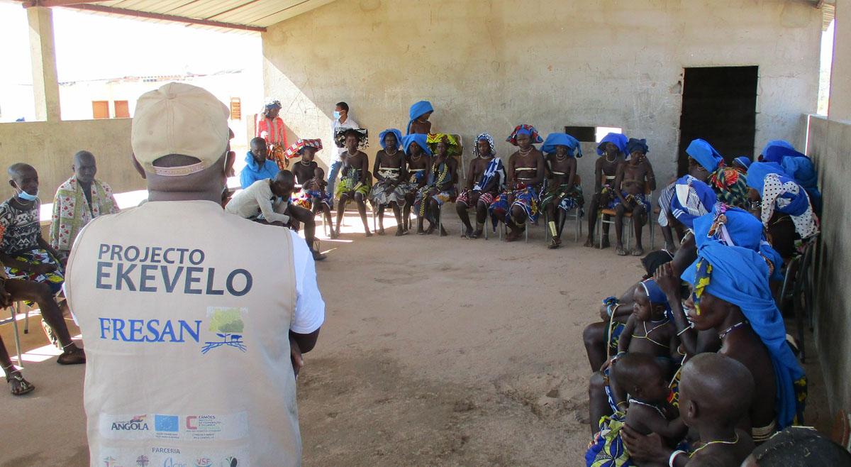 Ekevelo dinamiza acções em escolas e postos de saúde no Virei